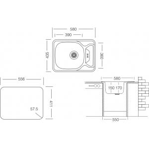 Compact CM* 580.435 GW 6К